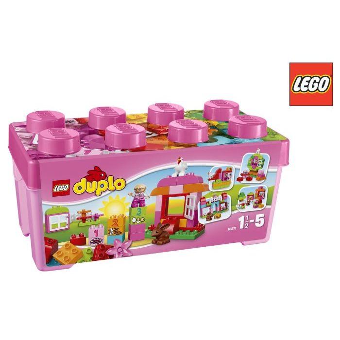 Lego Duplo Creative Play Scatola di Costruzioni Rosa Tu 10571