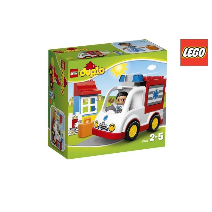 Lego Duplo Ville  Ambulanza 10527