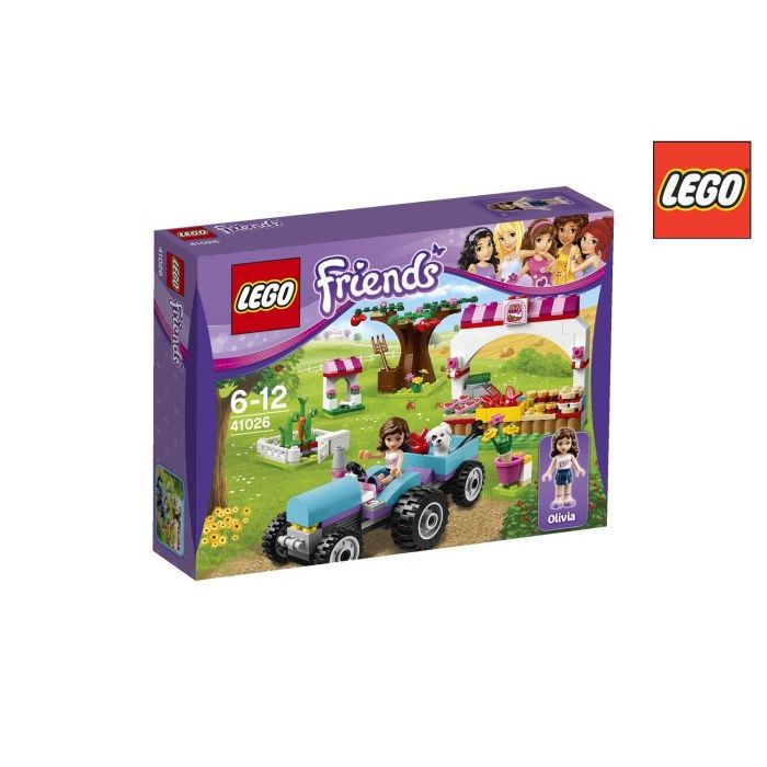 Lego Friends Raccolto Al Sole 41026
