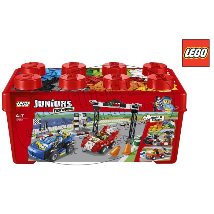 Lego Juniors Auto Da Rally 10673