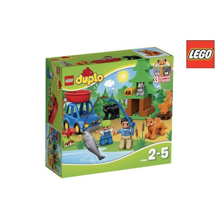 Lego Duplo Foresta Campeggio Lago 10583