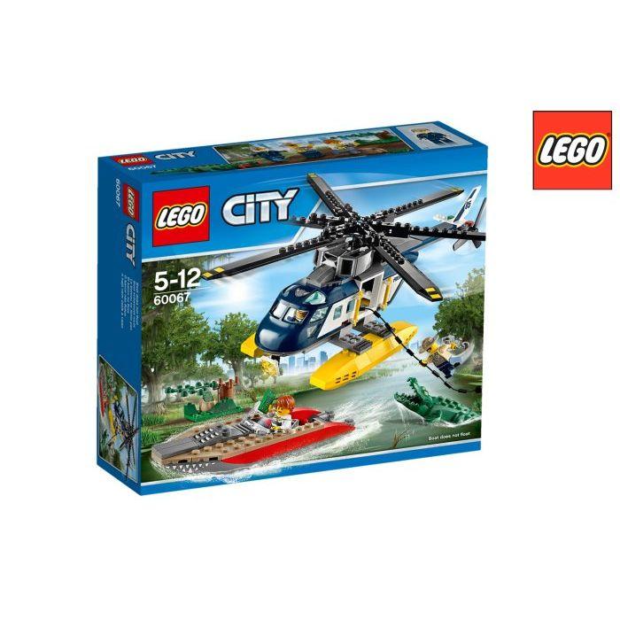 Lego City Police Inseguimento SullElicottero 60067