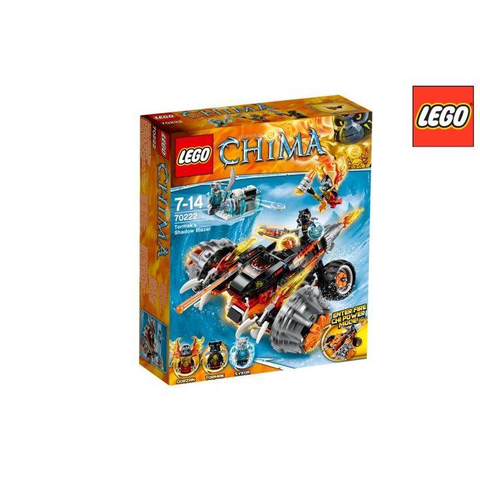 Lego Chima Moto Ombra di Tormak 7022