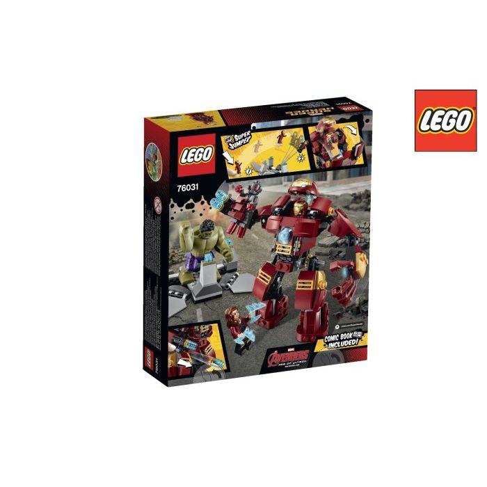 Lego Super Heroes Avengers  The Hulk Buster Smash 76031
