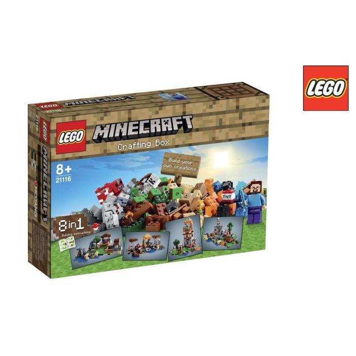 Lego Minecraft Crafting Box 2116