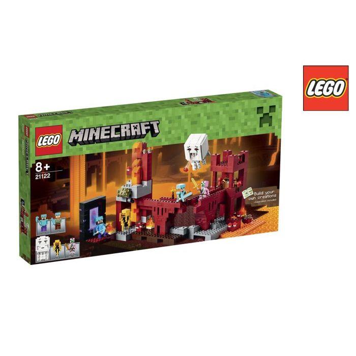 Lego Minecraft Fortezza Nether 21122