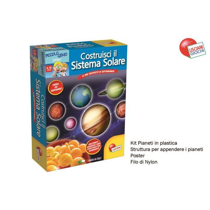 Liscianigiochi piccolo genio ecco il sistema solare