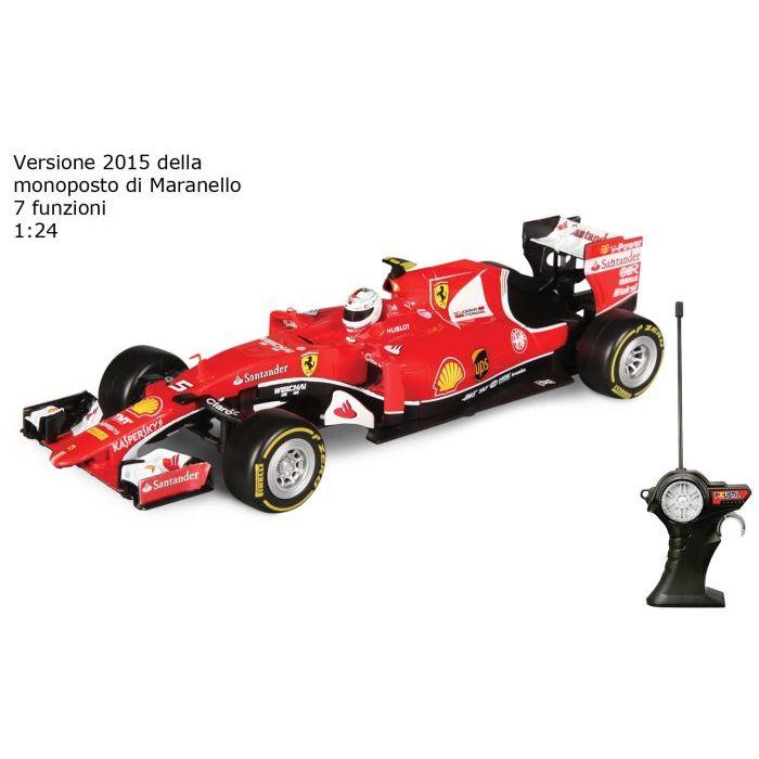 Sinsin Polistil Auto Ferrari Vettel Radiocomandi 953835
