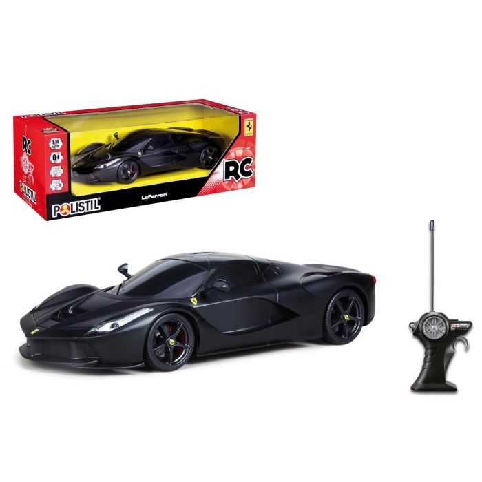Polistil Ferrari Black Radicomandata 955440