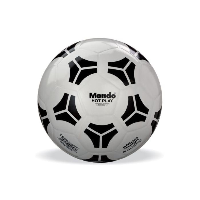 Mondo Pallone Calcio Hot Play Silver 23 cm