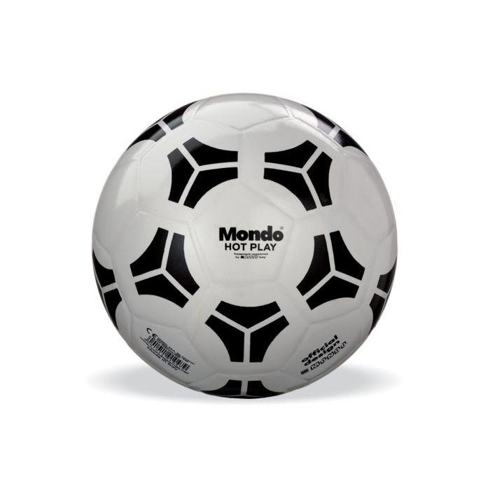 Mondo Pallone da Calcio Hot Play Bianco 23 cm