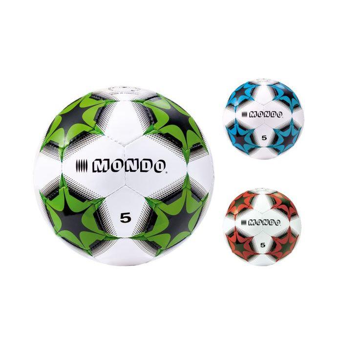 Mondo Pallone Cuoio Calcio Kaleidos 23 cm