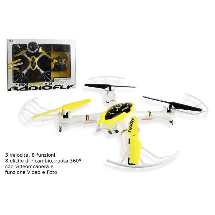 Ods Drone Space Watcher 31 con Videocamera