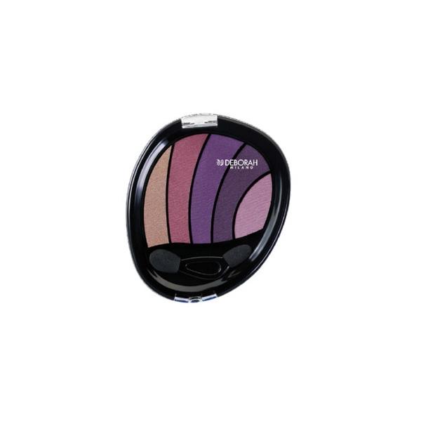 Deberoah  Ombretto eye design  palette ombretto 04 violet smokey