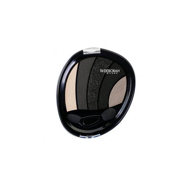 Deberoah  Ombretto eye design  palette ombretto 03 black smokey