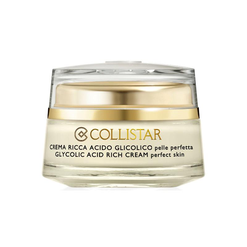 Collistar  Attivi puri crema ricca acido glicolico pelle perfetta  crema viso 50 ml
