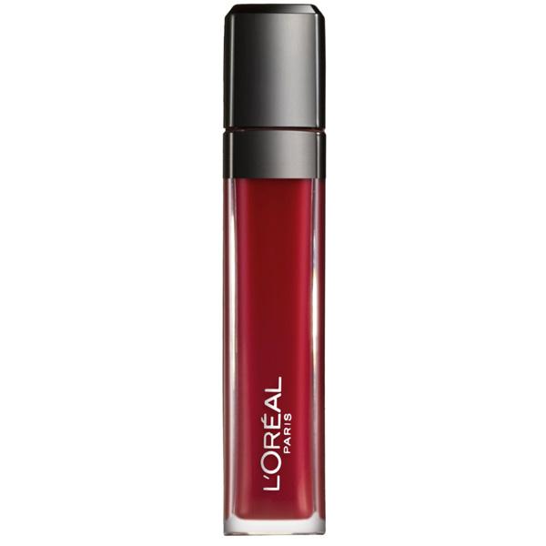 LOral Paris  Infaillible mega gloss  lucidalabbra 106 alert rouge
