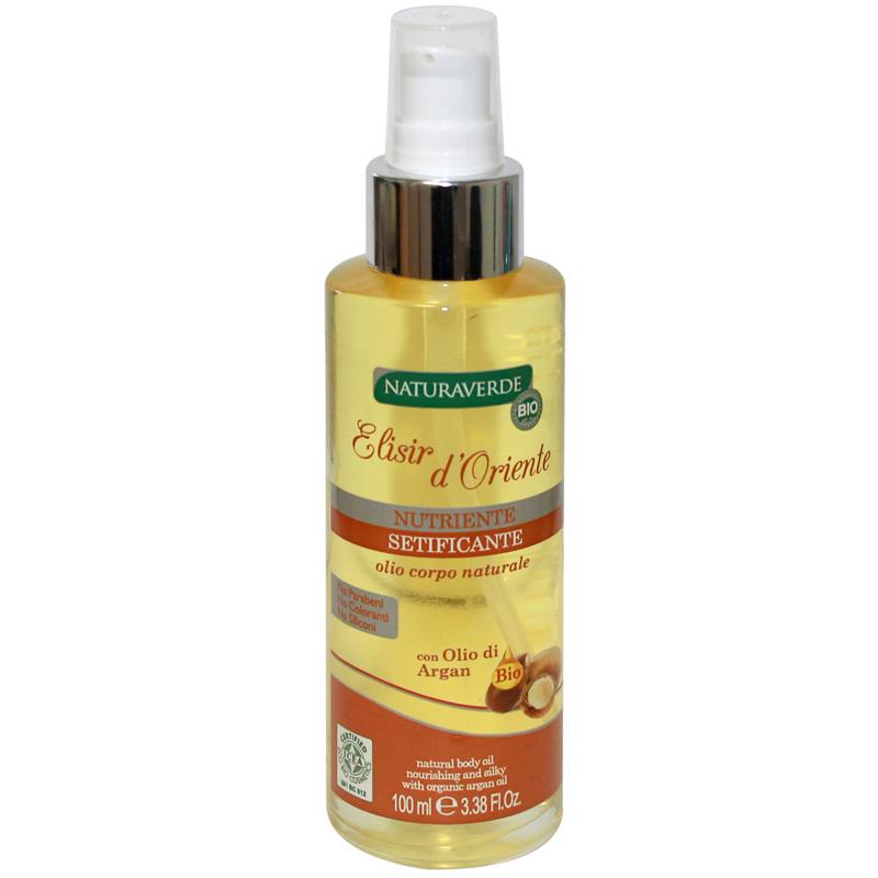 Natura Verde  Bio elisir doriente olio corpo emolliente rigenerante allolio di camelia 100 ml