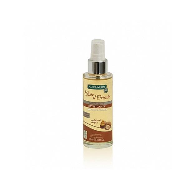 Natura Verde  Bio elisir doriente olio corpo nutriente setificante allolio di argan 100 ml