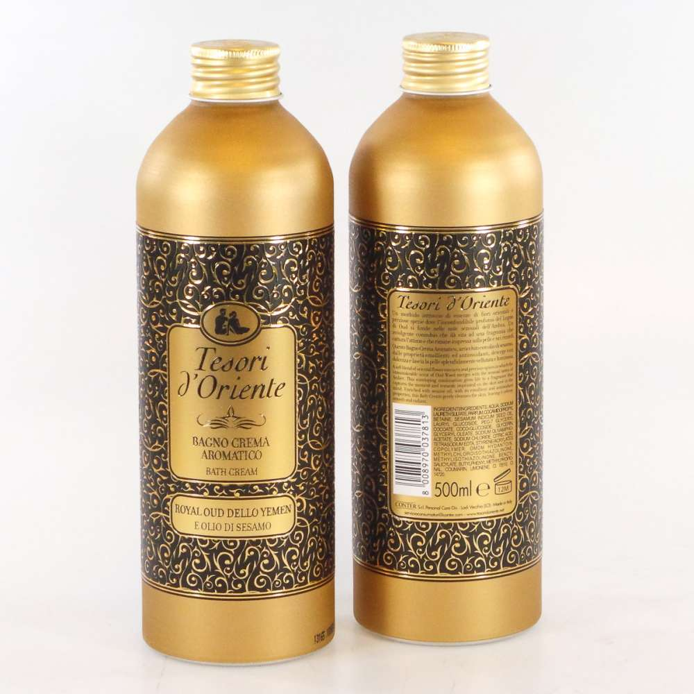 Tesori dOriente  Bagnoschiuma royal oud dello yemen 500 ml