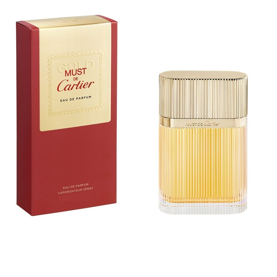 Cartier  Must de cartier gold  eau de parfum 50 ml vapo