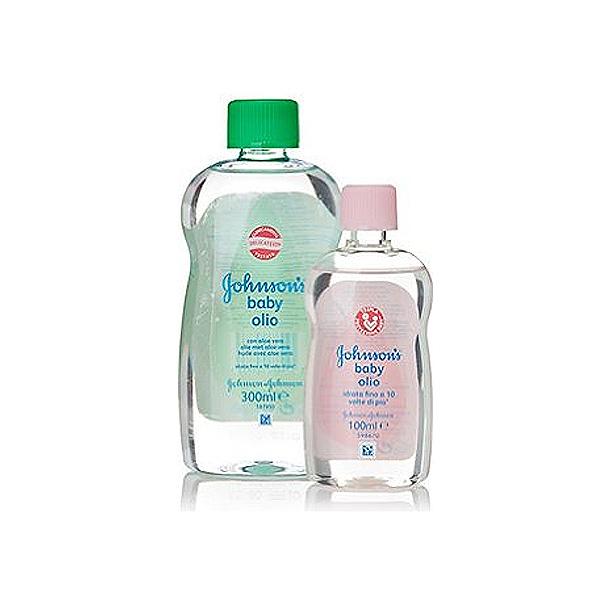 Johnsons Baby  Olio baby per il corpo allaloe vera 300 ml  100 ml