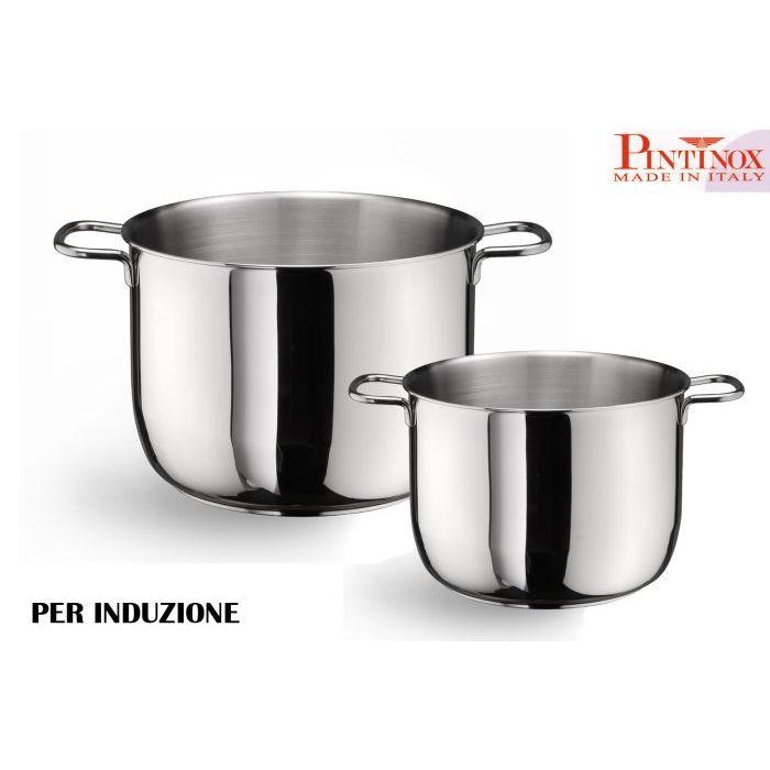 Pintinox Pentola 2 Manici 18 cm