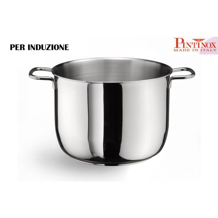 Pintinox Pentola 2 Manici 22 cm