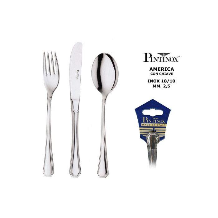 Pintinox Cucchiaio Tavola America 3 Pezzi