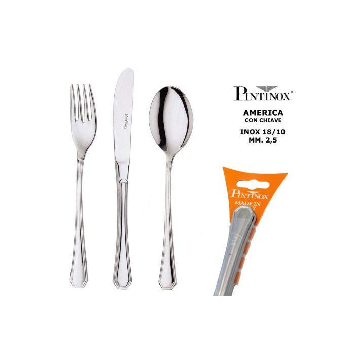 Pintinox Forchetta Pesce America  3 Pezzi