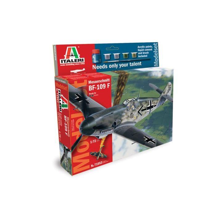 Pama model kit caccia militare messerschmitt 109 1:72 71053