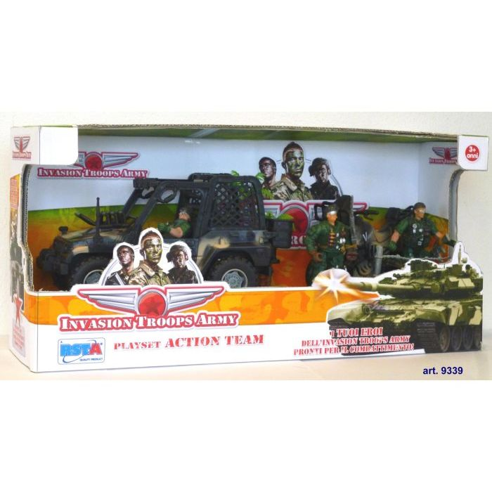 Bsta Playset Invasion Troops Army