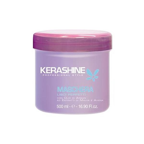 Kerashine  Maschera lisci perfetti con olio dargan ed estratti di malva e avena 500 ml