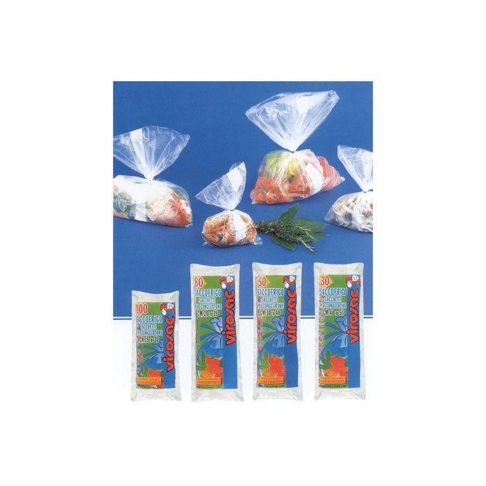 Virosac Rotolo di Sacchetti per Frigo 40 x 30 cm 50 Pezzi