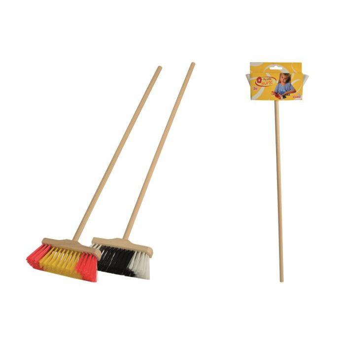 Simba Toys Scopa con Manico in legno