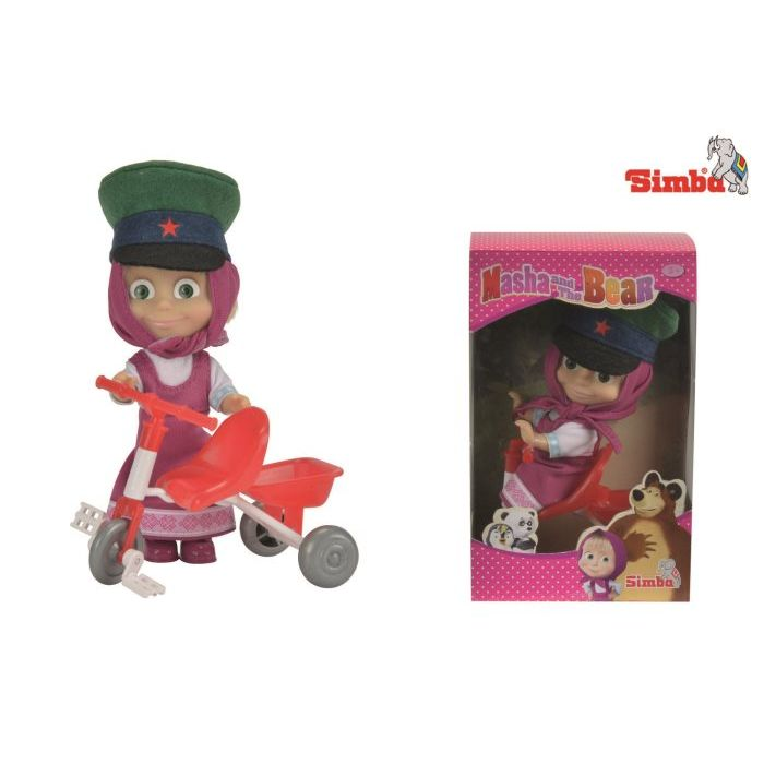 Simba Toys Masha con Triciclo