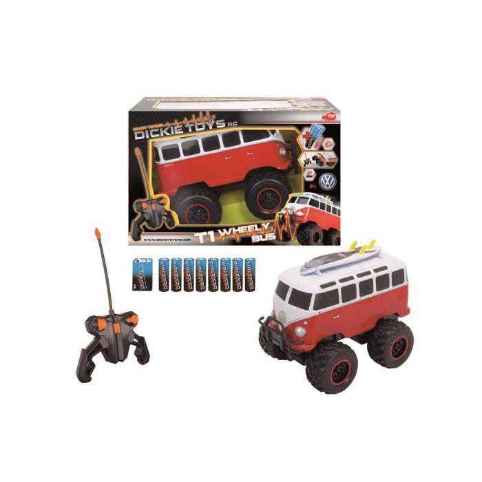 Simba Toys Bus Wheely T1 Radiocomandato