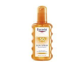 Eucerin sun spray trasparente fp50