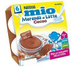Merenda mio cacao 100 g 4 pezzi