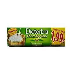 Dieterba omogeneizzato formaggino 3 pezzi 80 g