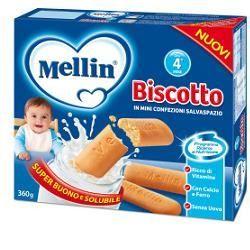 Mellin biscotto 360 g 12 pezzi