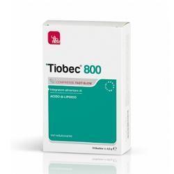 Tiobec 800 20 compresse fastslow 32 g