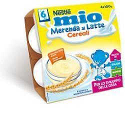 Nestle mio merenda latte cereali 100 g 4 pezzi