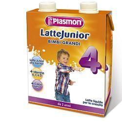 Plasmon latte junior liquido 500 ml x 2 pezzi