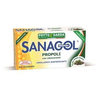 Sanagol propoli erbe balsamiche 24 caramelle