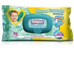 Salviettine umidificate pampers baby fresh 30  consistente 20 pezzi
