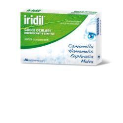Gocce oculari iridil 10 ampolle monodose richiudibili 05 ml