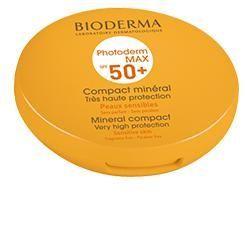 Photoderm max compact spf 50 crema solare minerale compatta nuance scura 10 g
