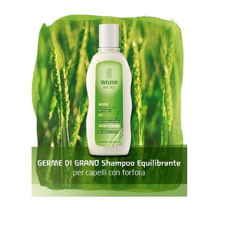 Germe di grano shampoo riequilibrante flacone 190 ml