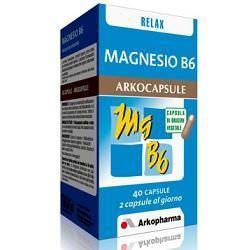 Magnesio b6 40 capsule